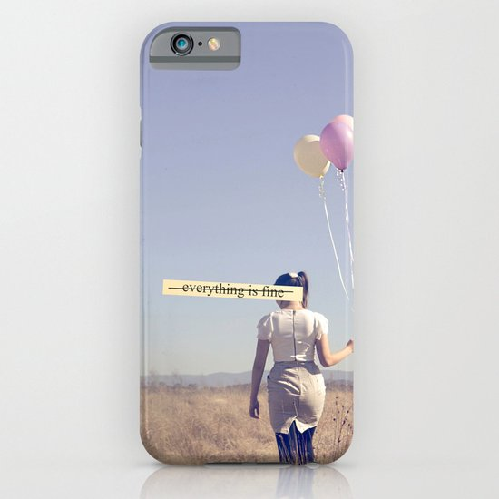 (EVERYTHING IS FINE) iPhone & iPod Case