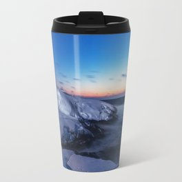 Winter Twilight Travel Mug