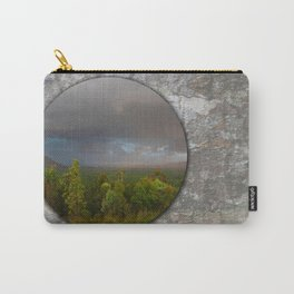 Approaching storm over Australian Landscape Carry-All Pouch