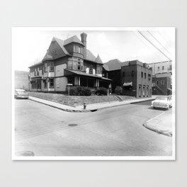 Corner of Fayette Canvas Print