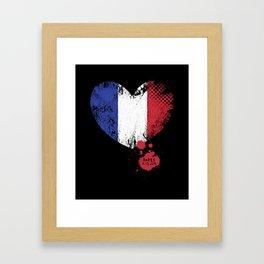 Paris 11.13.2015 Framed Art Print