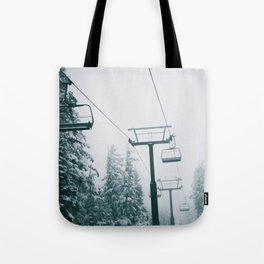 Ski Lift II Tote Bag