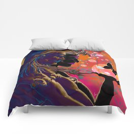 """Gossamer & Lotus Dream"" Comforters"