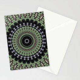 Sage Green Mandala Stationery Cards