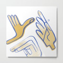 Touch Me Metal Print