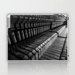 Silent Piano Keys Laptop & iPad Skin