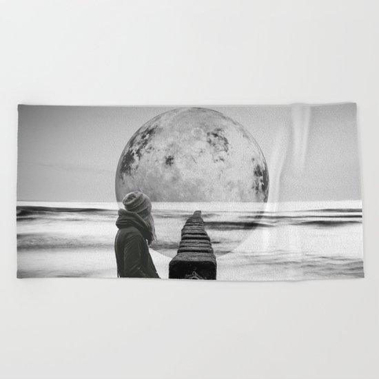 Strange Trip Beach Towel