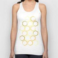 honeycomb Tank Tops featuring Honeycomb by Thomas Knapp