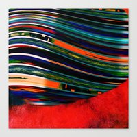 rave Canvas Prints featuring Rave by Neelie