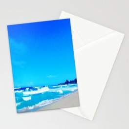 Carribean Coast Stationery Cards