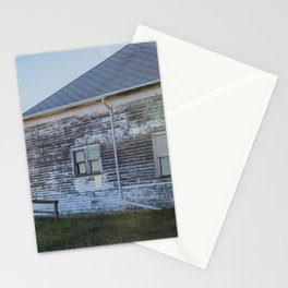 Old Building, Chaseley, North Dakota 2 Stationery Cards