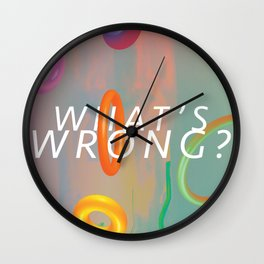 What's Wrong? Wall Clock