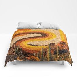 DESERT RAINBOW Comforters