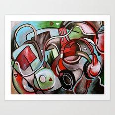 iPod Generation Art Print