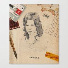 Nick Drake 2015 Canvas Print