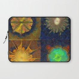 Unijugous Threadbare Flowers  ID:16165-010211-80730 Laptop Sleeve