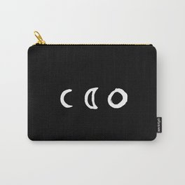 I'd Give You the Moon - Black Carry-All Pouch