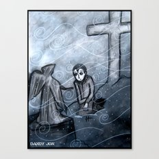 A Cold Season of Mourning Canvas Print