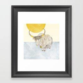 Yak Framed Art Print