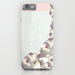 Orchid waterfall iPhone Case