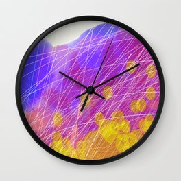 Mayflies Wall Clock