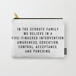 Schrute Family - the Office Carry-All Pouch