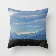 Midnight Sun Throw Pillow