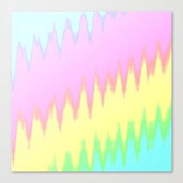 SPACE RAINBOW Canvas Print