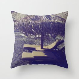 Private Paradise II Throw Pillow