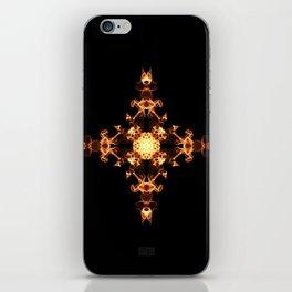 Fire Cross iPhone Skin