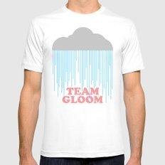 Team Gloom MEDIUM White Mens Fitted Tee