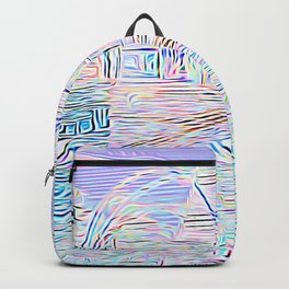 Light Cities of the New World Backpack