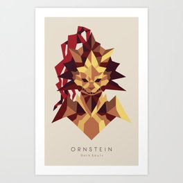 Ornstein the Dragonslayer - Dark Souls Art Print