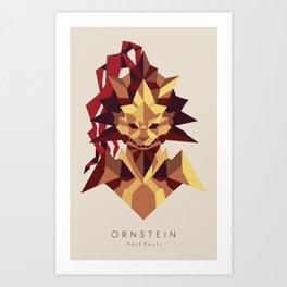 Ornstein the Dragonslayer - Dark Souls Art Print