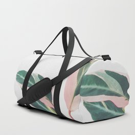 Pink Leaves II Duffle Bag