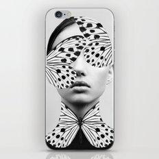 Woman Butterfly iPhone & iPod Skin