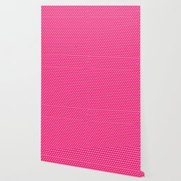 Pink Cube Tiles Wallpaper