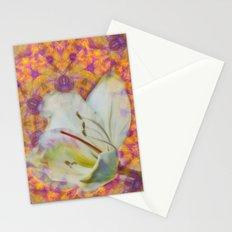 Bauhinia on vibrant kaleidoscope Stationery Cards