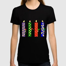 Fun Christmas Candles T-shirt