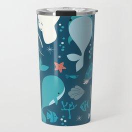 Sea creatures 004 Travel Mug
