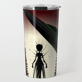 Aliens in the Forest Travel Mug