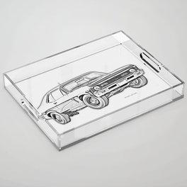 1968 Nova Acrylic Tray