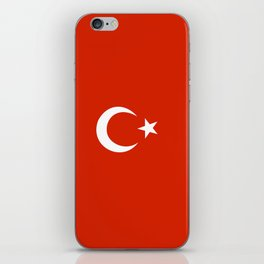 turkey country flag iPhone Skin