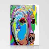 rottweiler Stationery Cards featuring Rottweiler by EloiseArt