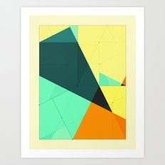 DELINEATION (126) Art Print