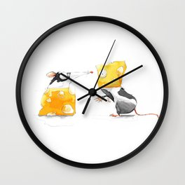 Swap Me! #Cheese Wall Clock