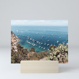 Catalina Island California Seaside Bluffs  Mini Art Print