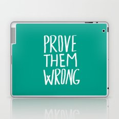 Prove Them Wrong x Turquoise Laptop & iPad Skin