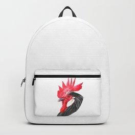 Rooster Portrait Backpack
