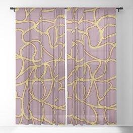 Alexandra II Sheer Curtain